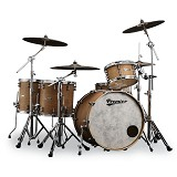 PREMIER North American Maple Drum Kit Spitfire Series [Full Kit] - Natural Wood - Drum Kit